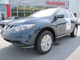 2011 Graphite Blue Nissan Murano SL #53171720