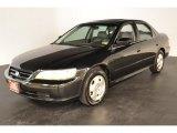 2002 Nighthawk Black Pearl Honda Accord EX V6 Sedan #53172033