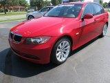 2008 Crimson Red BMW 3 Series 328i Sedan #53171575