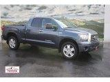 2007 Slate Metallic Toyota Tundra Limited Double Cab 4x4 #53171415