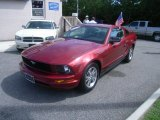 2005 Redfire Metallic Ford Mustang V6 Premium Coupe #53171883