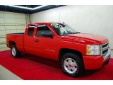 2009 Victory Red Chevrolet Silverado 1500 LS Extended Cab #53171585