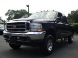 2003 True Blue Metallic Ford F250 Super Duty XLT SuperCab 4x4 #53172056
