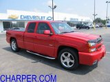 2004 Victory Red Chevrolet Silverado 1500 SS Extended Cab AWD #53172064