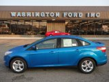 2012 Blue Candy Metallic Ford Focus SE Sport Sedan #53171744