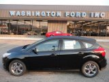 2012 Tuxedo Black Metallic Ford Focus SE Sport 5-Door #53171745