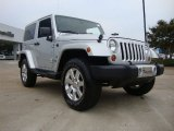 2011 Bright Silver Metallic Jeep Wrangler Sahara 70th Anniversary 4x4 #53171913