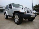 2011 Bright Silver Metallic Jeep Wrangler Sahara 70th Anniversary 4x4 #53171913