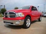 2012 Flame Red Dodge Ram 1500 Big Horn Quad Cab #53171916