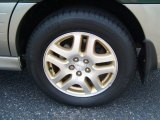 Subaru Outback 2002 Wheels and Tires