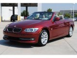 2011 Vermillion Red Metallic BMW 3 Series 328i Convertible #53171776