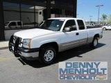 2003 Summit White Chevrolet Silverado 1500 LS Extended Cab 4x4 #53171931
