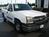 2004 Silver Birch Metallic Chevrolet Silverado 1500 Regular Cab #53172096