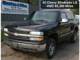 2002 Onyx Black Chevrolet Silverado 1500 LS Regular Cab 4x4 #53171658
