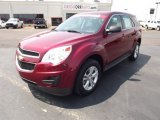 2010 Cardinal Red Metallic Chevrolet Equinox LS #53171836
