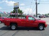 2011 Victory Red Chevrolet Silverado 1500 Regular Cab 4x4 #53171519