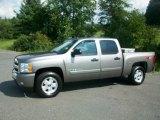 2008 Graystone Metallic Chevrolet Silverado 1500 LT Crew Cab 4x4 #53171964