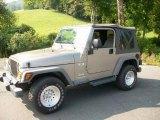 2006 Light Khaki Metallic Jeep Wrangler X 4x4 #53224582