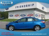 2012 Blue Candy Metallic Ford Focus SE Sport Sedan #53244353