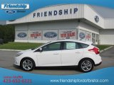 2012 Oxford White Ford Focus SEL 5-Door #53244355