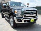 2012 Black Ford F250 Super Duty Lariat Crew Cab 4x4 #53247564