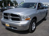 2009 Bright Silver Metallic Dodge Ram 1500 SLT Quad Cab 4x4 #53247381