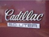 Cadillac Brougham 1990 Badges and Logos