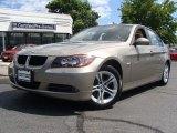 2008 Platinum Bronze Metallic BMW 3 Series 328xi Sedan #53247408