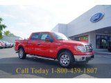 2011 Race Red Ford F150 XLT SuperCrew #53247498