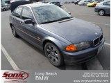 2001 Steel Grey Metallic BMW 3 Series 325i Sedan #53247580