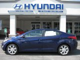 2012 Indigo Night Blue Hyundai Elantra Limited #53247428