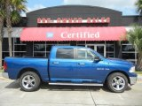 2010 Deep Water Blue Pearl Dodge Ram 1500 Big Horn Crew Cab #53247459