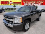 2011 Taupe Gray Metallic Chevrolet Silverado 1500 LS Regular Cab #53247733