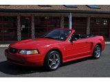 1999 Laser Red Metallic Ford Mustang V6 Convertible #53247753