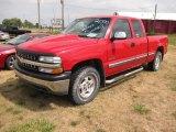 2000 Victory Red Chevrolet Silverado 1500 Z71 Extended Cab 4x4 #53279558