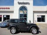 2010 Dark Charcoal Pearl Jeep Wrangler Sahara 4x4 #53279785