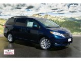 2011 South Pacific Blue Pearl Toyota Sienna XLE AWD #53279679