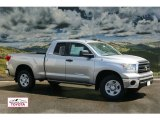 2011 Silver Sky Metallic Toyota Tundra SR5 Double Cab 4x4 #53279682