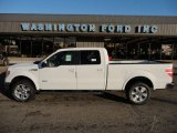 2011 Oxford White Ford F150 Lariat SuperCrew 4x4 #53279968