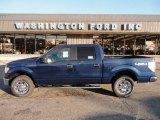 2011 Dark Blue Pearl Metallic Ford F150 XLT SuperCrew 4x4 #53279970