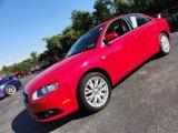 2008 Brilliant Red Audi A4 2.0T quattro Sedan #53279708