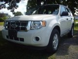 2009 White Suede Ford Escape XLS #53279843