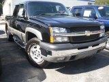 2003 Black Chevrolet Silverado 1500 Z71 Extended Cab 4x4 #53279715