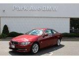 2011 Vermillion Red Metallic BMW 3 Series 328i xDrive Coupe #53279735