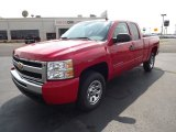 2011 Victory Red Chevrolet Silverado 1500 LS Extended Cab #53280034