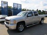 2011 Sheer Silver Metallic Chevrolet Silverado 1500 LT Crew Cab #53279757