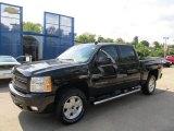 2011 Black Chevrolet Silverado 1500 LT Crew Cab 4x4 #53279758