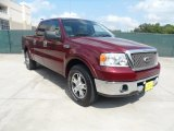 2006 Dark Toreador Red Metallic Ford F150 Lariat SuperCrew #53279881