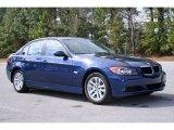 2006 Mystic Blue Metallic BMW 3 Series 325i Sedan #5325073