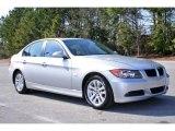 2006 Titanium Silver Metallic BMW 3 Series 325i Sedan #5325087